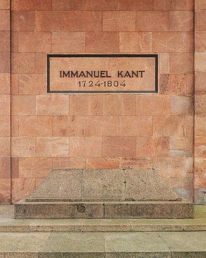 Königsberg Cathedral - Tomb of Immanuel Kant at Königsberg Cathedral
