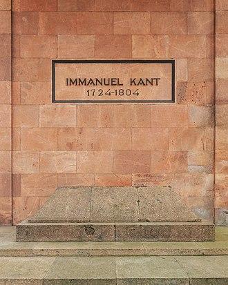 Königsberg Cathedral - Tomb of Immanuel Kant at Königsberg Cathedral