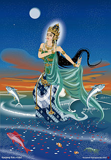 Indonesian goddess of the sea