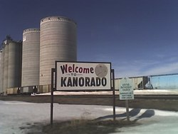 Kanorado Welcome Sign (2008)