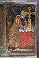 Karel IV., 3. ostatková scéna (vpravo), Karlštejn, kaple svaté Kateřiny.jpg
