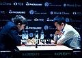 Karjakin - Ding Liren, Candidates Tournament 2018.jpg
