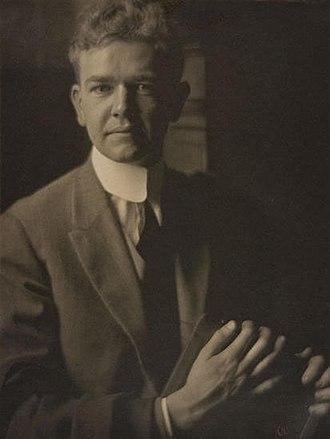 Karl Struss - Photographer and cinematographer Karl Struss in 1912, photographed by Clarence H. White.