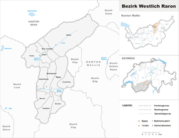 District Westlich Raron