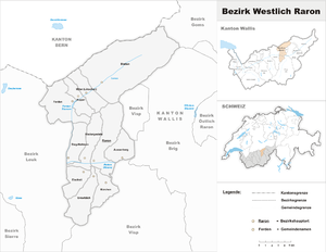 Subdivisions of the canton of Valais WikiVisually