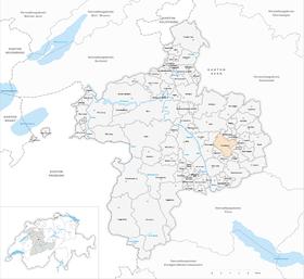 Karte von Konolfingen