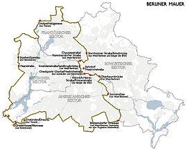 berlinmuren kart Berlinmuren – Wikipedia berlinmuren kart