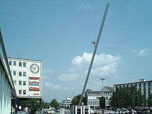 Jonathan Borofsky - Image: Kassel Himmelsstürmer