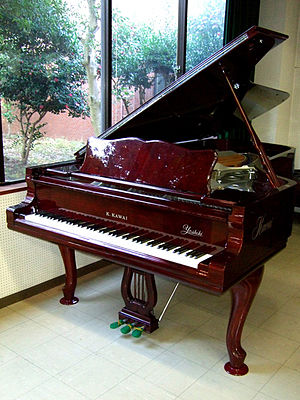 Kawai Musical Instruments - Kawai custom made concert grand piano for Yoshiki (1993)