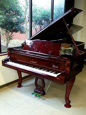 Kawai Musical Instruments - Kawai custom made concert grand piano for Yoshiki (1993)