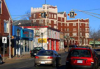 Kentville Town in Nova Scotia, Canada
