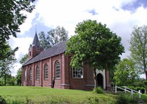 "Hermit - Church of the hermitage ""Our Lady of the Enclosed Garden"" in Warfhuizen, Netherlands"