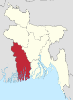 Khulna in Bangladesh.svg