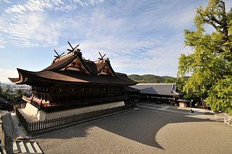 Kibitsu Shrine - Honden-Haiden (1425), a National Treasure