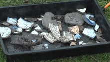 File:Kilwinning Abbey Dig 2011 part 2.webm