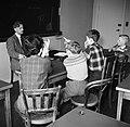 Kinderen krijgen onderwijs in de school van het koninklijk Deens ballet, Bestanddeelnr 252-9212.jpg