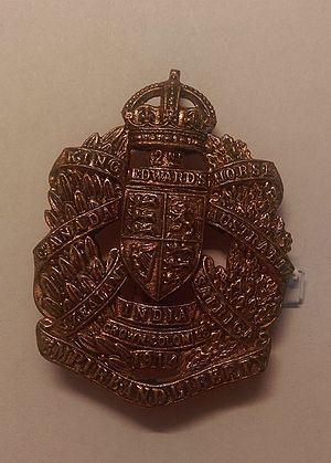 King Edward's Horse - King Edward's Horse Cap Badge