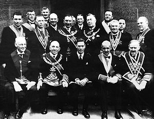 Grand Lodge of Scotland - King George VI and Scottish Freemasons