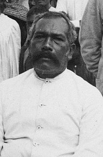 High Chief of Mangaia