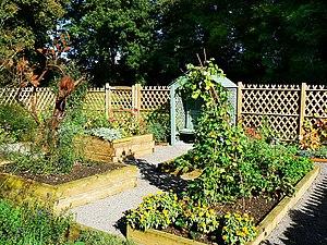 English: Kitchen Garden, Ranger Centre, Stanto...
