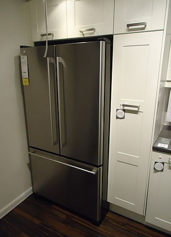 Kitchen Design Refrigerator file:kitchen design at a store in nj refrigerator and cabinets 8