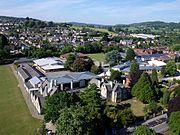 Kite aerial photo of Marling School