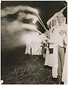 Klansmen at initiation ceremony at Wilson Station, Renton, July 14, 1923 (MOHAI 15386).jpg