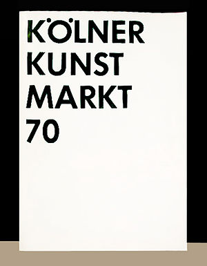 Art Cologne - catalogue cover