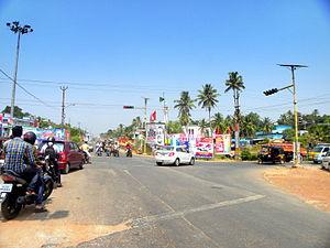 Ayathil - Kollam Bypass at Ayathil