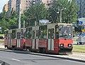 Konstal 805Na 354+355, tram line 4, Bydgoszcz, 2006.jpg
