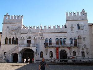 Venetian Praetorian Palace in Koper (Slovenia)