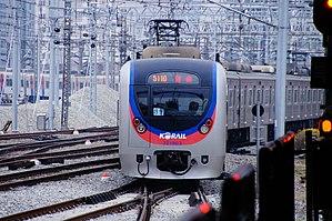 Korail Class 321000 - Class 321000 (first batch) train 321-03 (ex-Class 5000 train 5-88)