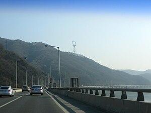 National Route 6 (South Korea) - Route 6 at Yangseo, Yangpyeong, Gyeonggi Province