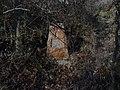 Kosoř - pomník rudoarmějce Suchoguzova v Černých roklích (2).jpg
