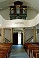 Krems Eisentratten evangelische Kirche Orgel Empore 26082007 06.jpg