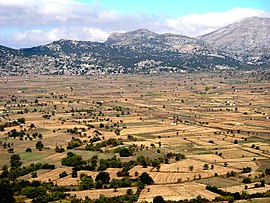 Panorama of the Lasithi Plateau