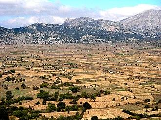 Lasithi Plateau - Panorama of the Lasithi Plateau