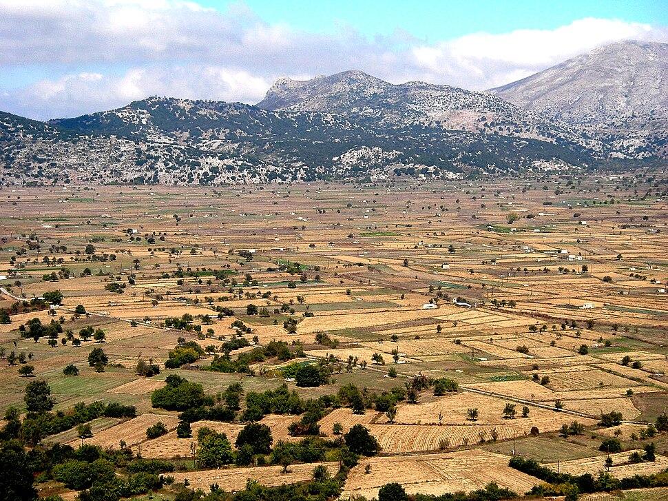Kreta-Lassíthi-Hochebene