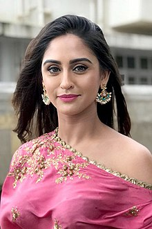 Krystle D'Souza graces the SVA collection launch (04) (cropped).jpg