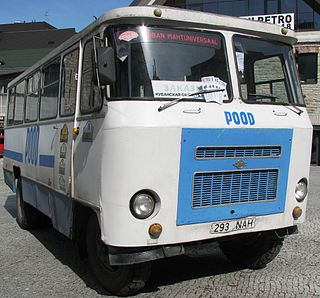 Defunct Russian bus manufacturer.