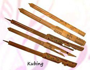 Kubing - A variety of kubing harps