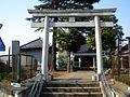 Kumano jinja west maenocho itabashi.JPG