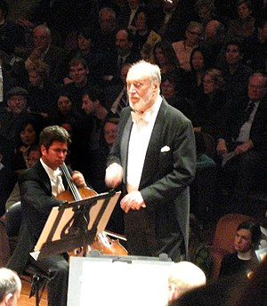 Kurt Masur - Masur conducting the San Francisco Symphony in 2007