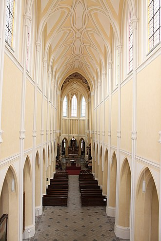 Church of the Assumption of Our Lady and Saint John the Baptist - Image: Kutna Hora Cathedral of Our Lady nave 2