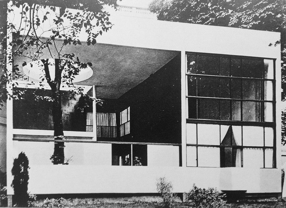 L'Esprit Nouveau pavilion at the 1925 Paris International Exposition of Modern Decorative and Industrial Arts