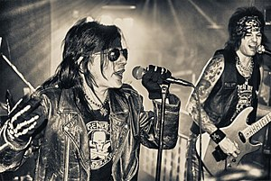L.A. Guns - Phil Lewis' L.A.Guns Cube 2010