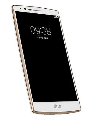 LG G4 - Image: LG G4 White Gold Edition