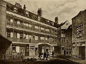John Cassell - La Belle Sauvage Inn