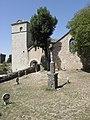 La Couvertoirade (12) Église Saint-Christol Extérieur 07.JPG