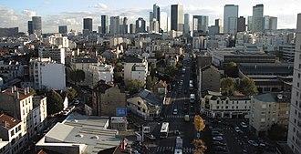 La Garenne-Colombes - La Garenne-Colombes is very close to Paris business center La Défense